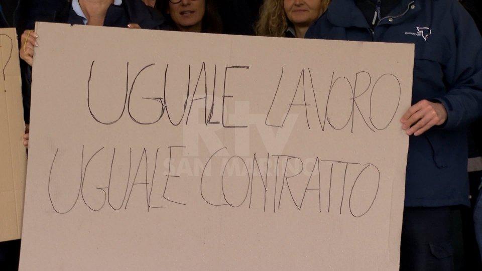 la manifestazionePoste San Marino, continua lo sciopero. Disagi per la consegna dei certificati elettorali