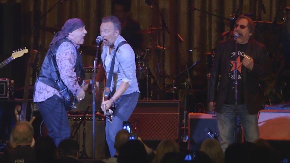 Little Steve e Bruce SpringsteenAsbury concert
