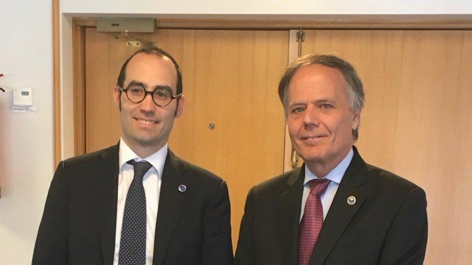 Incontro a Helsinki tra il Segretario di Stato Renzi e il Ministro Moavero Milanesi