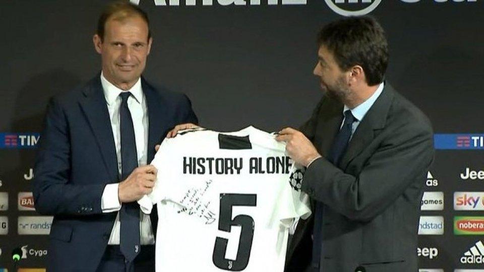 La Juventus volta pagina