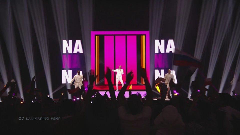 L'esibizione di Serhat alla finale di Eurovision 2019La finale