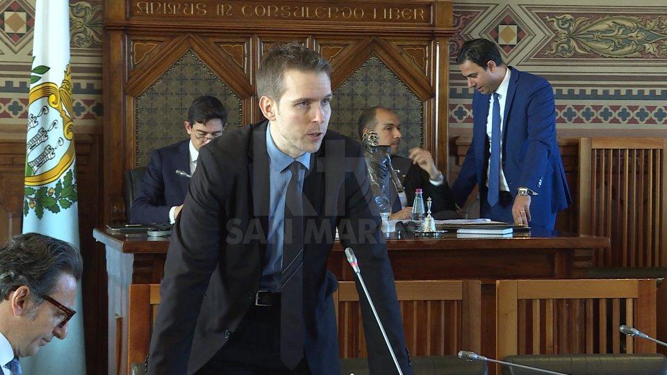 Il Segretario Andrea ZafferaniIl Segretario Andrea Zafferani