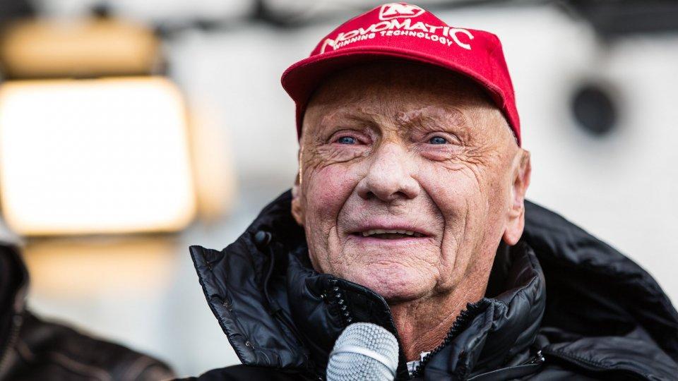 Niki Lauda nel 2016