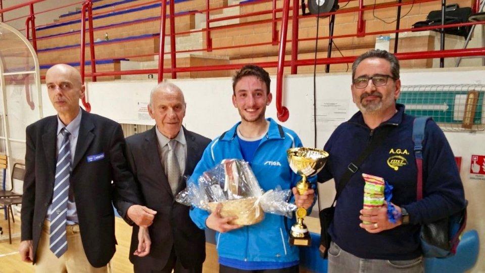 Tennis Tavolo: Davide Muccioli protagonista a Montemarciano