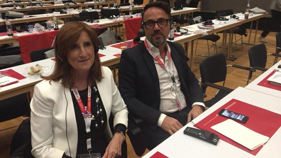 Usl presente al 14° congresso della confederazione europea dei sindacati a Vienna