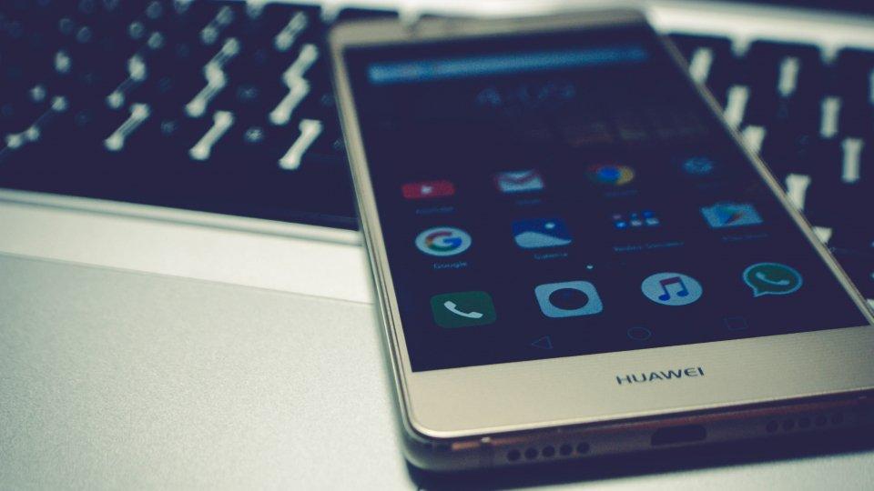 Un telefono Huawei
