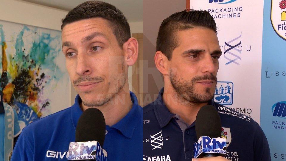 Le parole dei due capitani, Alex Gasperoni e Danilo Rinaldi