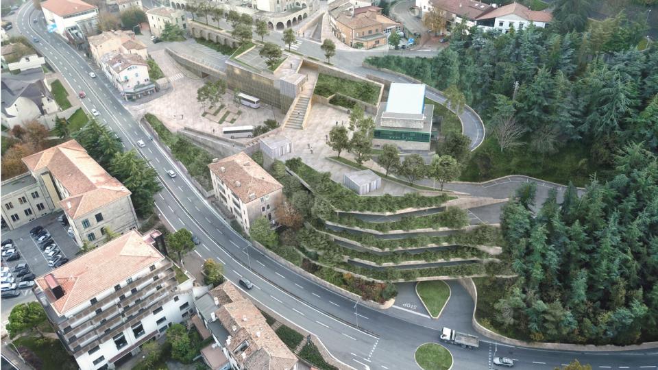 Borgo: lunedì 27 scopriremo il nuovo parcheggio