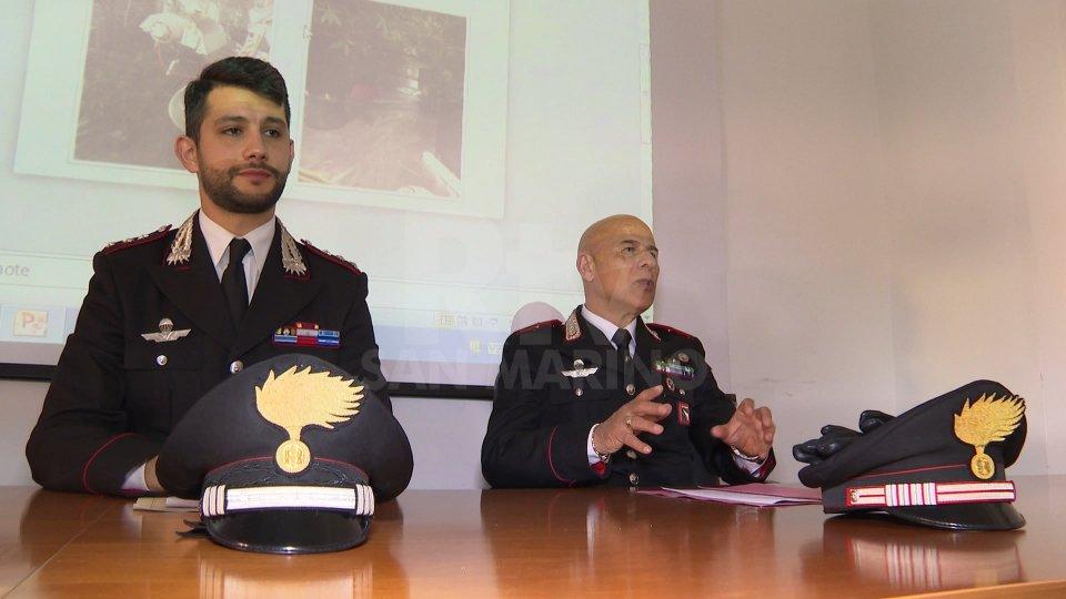 Conferenza stampa Cc RiminiIl resoconto dei Carabinieri