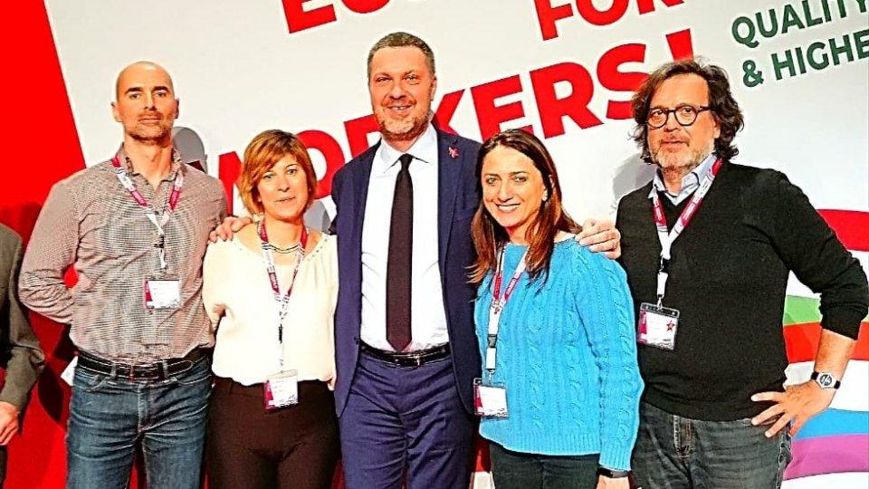 Stéphane Colombari, Simona Zonzini, Luca Visentini, Milena Frulli, Giorgio Felici