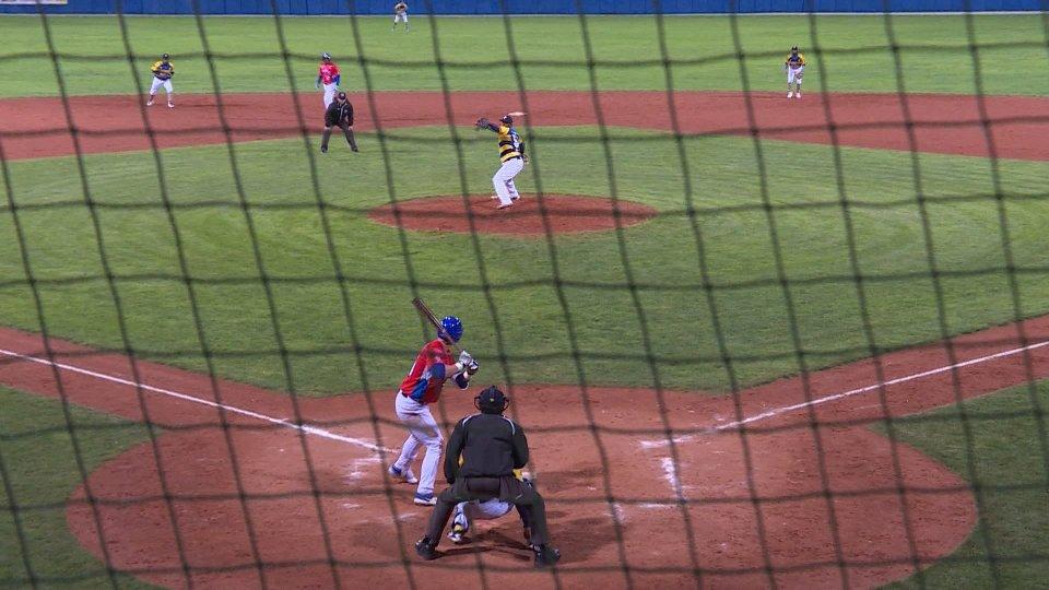 Vittoria del San Marino baseball in gara uno