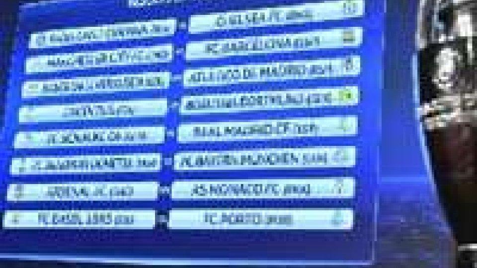 Champions League: agli ottavi sarà Juventus-Borussia Dortmund