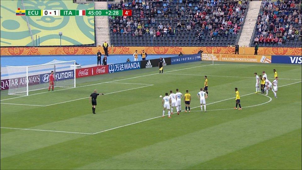Mondiali U20, Italia agli ottavi: 1-0 all'Ecuador