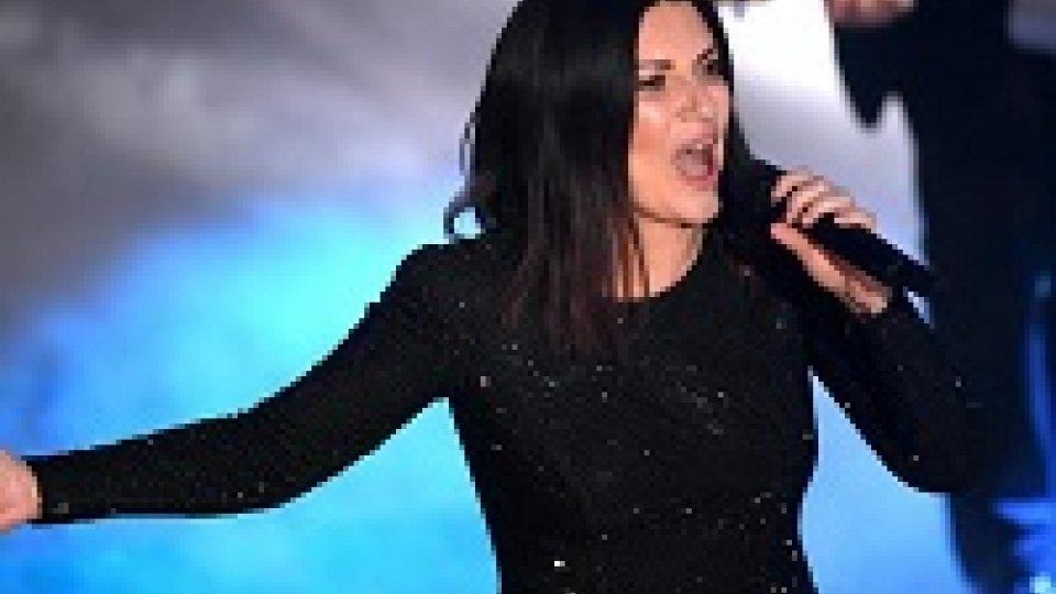 Laura Pausini, sul palco a Roma i suoi autori
