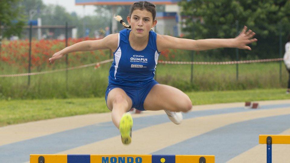 Record sammarinese per Alessandra Gasparelli