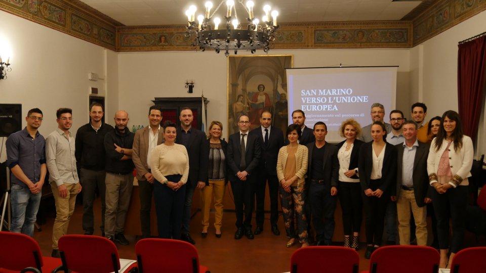 San Marino verso l'Unione europea: stasera l'ottavo incontro nel Castello di San Marino