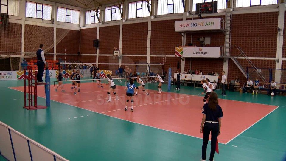le ragazze del volleyla cronaca di Beach e Volley Rsm