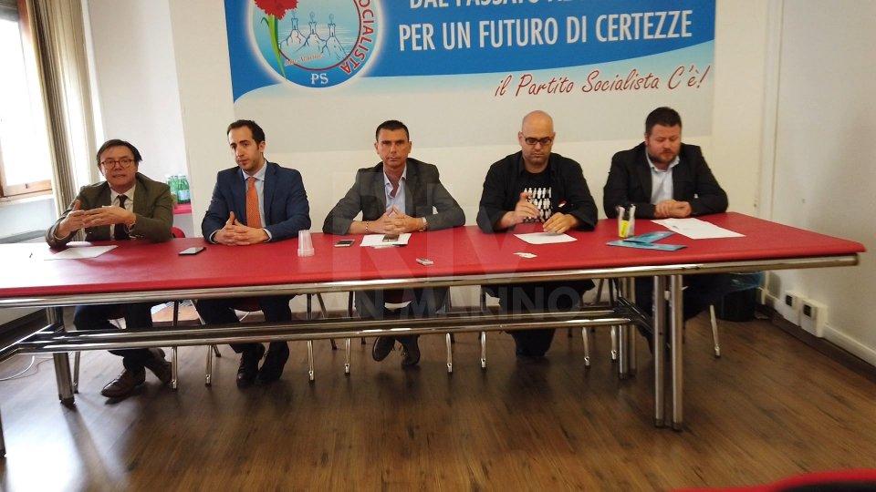 conferenza stampaL'opposizione sul Referendum