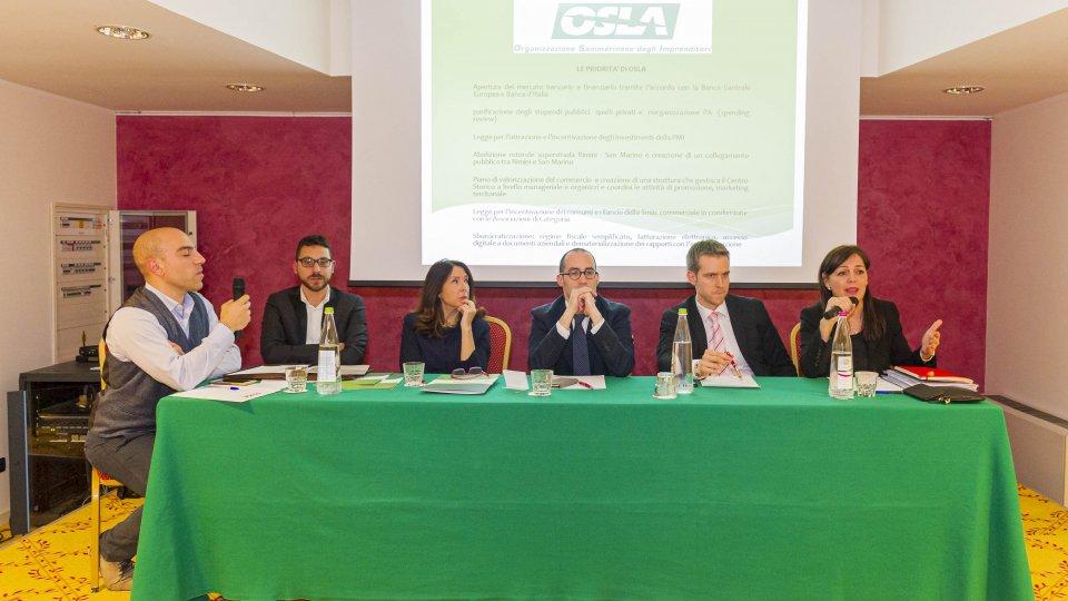 Investimenti, semplificazione fiscale e burocratica, rilancio del commercio e dei consumi: da OSLA le priorità per rilanciare il Paese