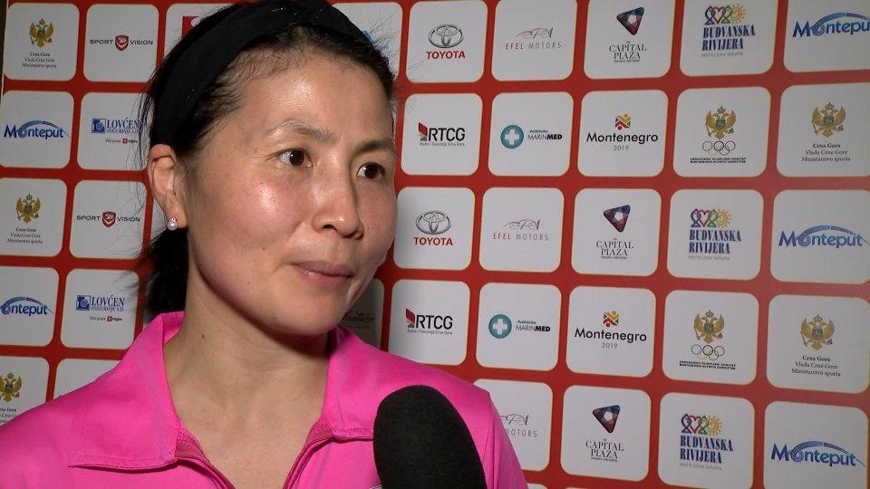 Yan ChimeiSentiamo Yan Chimei Argento a squadre Tennis Tavolo Femminile