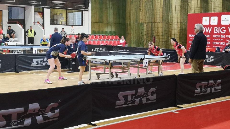 Montenegro 2019: il tennis tavolo blinda la medaglia nel doppio femminile