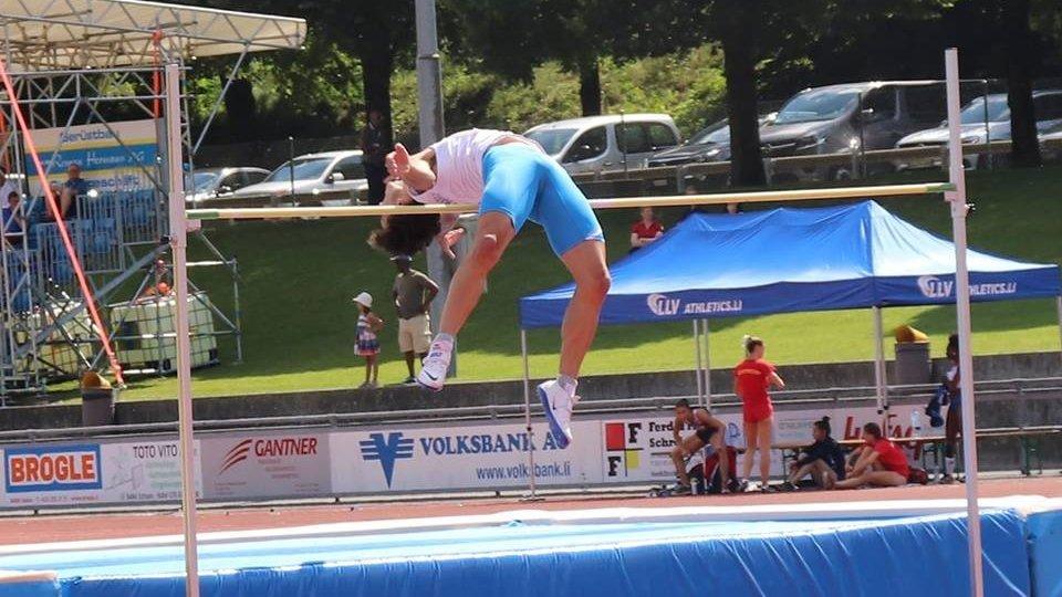@fbGiochi: nel salto in alto Matteo Mosconi sfiora il bronzo