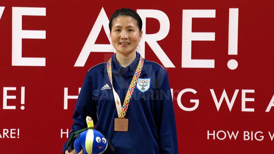 Yan Chimei è medaglia di bronzoGiochi:  Yan Chimei è medaglia di bronzo nel singolare femminile