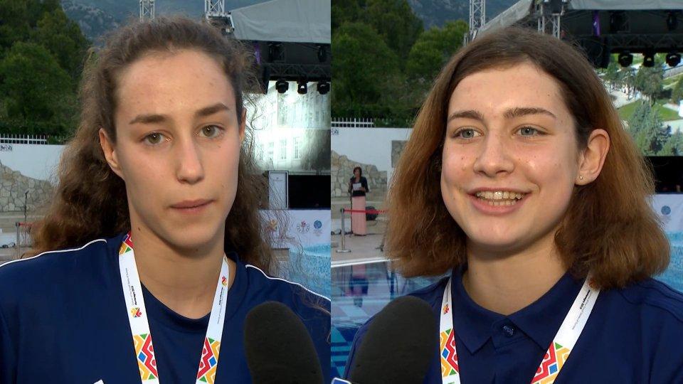 Nuoto: Il nuoto e' già proiettato verso il futuro con Santi e Carabini. 29 anni in due