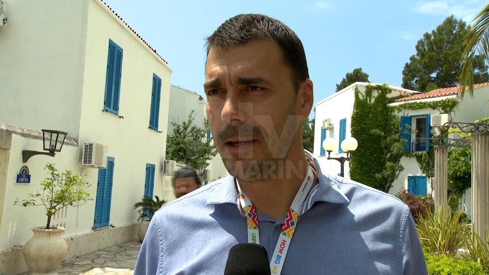 """Igor VusurovicIgor Vusurovic: """"Soddisfatti per questa prima edizione dei Giochi in Montenegro"""""""