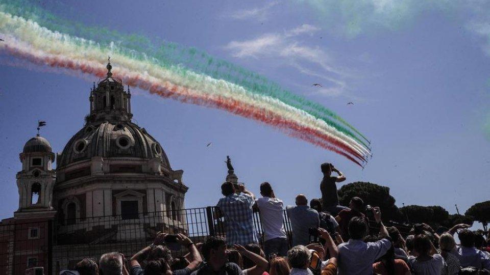 Celebrazioni a Roma. Foto ansa