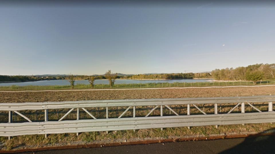 Il fiume Conca. Foto Google Maps