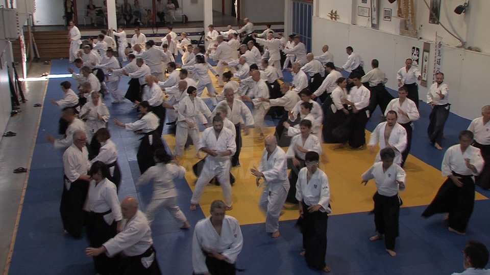 "Aikido, all'Ex Mesa lo stage ""7 Samurai a San Marino""Aikido, all'Ex Mesa lo stage ""7 Samurai a San Marino"""