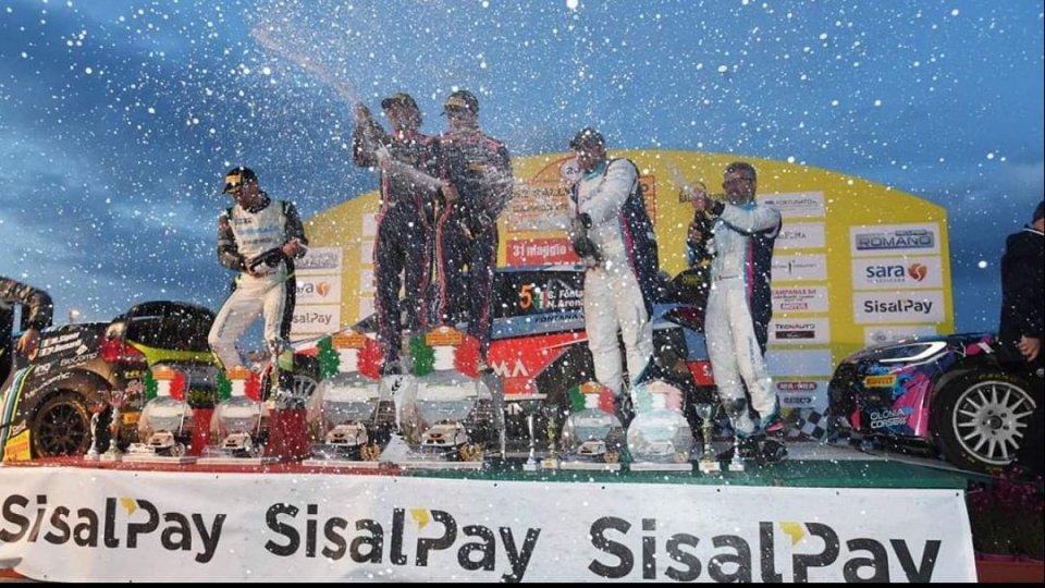Corrado Fontana e Nicola Arena @rallyssimoIl Rally del Salento a Fontana e Arena
