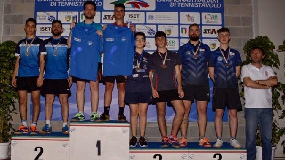 Juvenes Tennistavolo: campionati italiani a Riccione