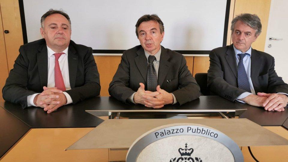 """Esito del referendum e notizie infondate sul """"bail-in"""": questi i temi affrontati in conferenza stampa dalla coalizione Adesso.sm"""