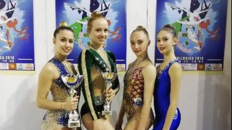 Ottime conferme per la società sportiva ginnastica San Marino ai campionati nazionali Uisp e ai nazionali Csen