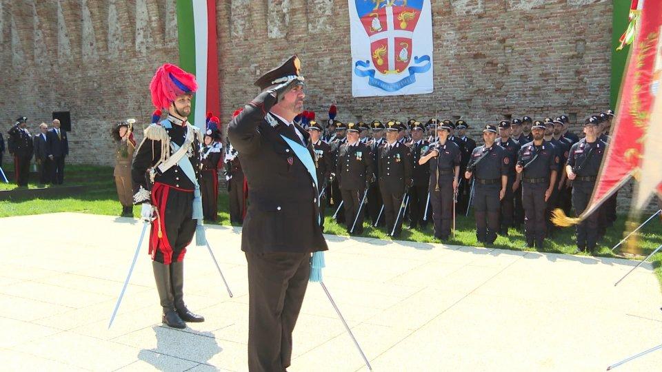 Celebrazione a RiminiLa festa a Castel Sismondo