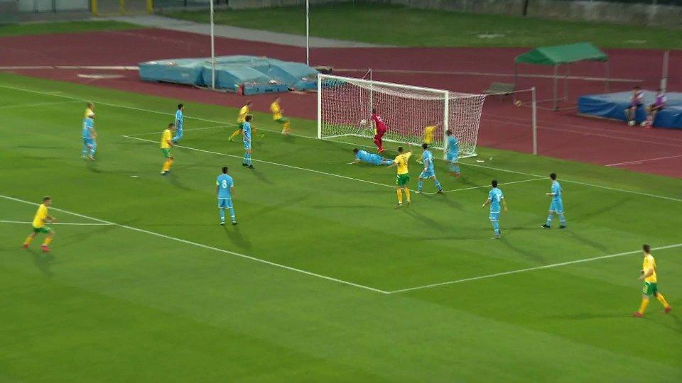 Under 21: San Marino-Lituania 0-3 Finale