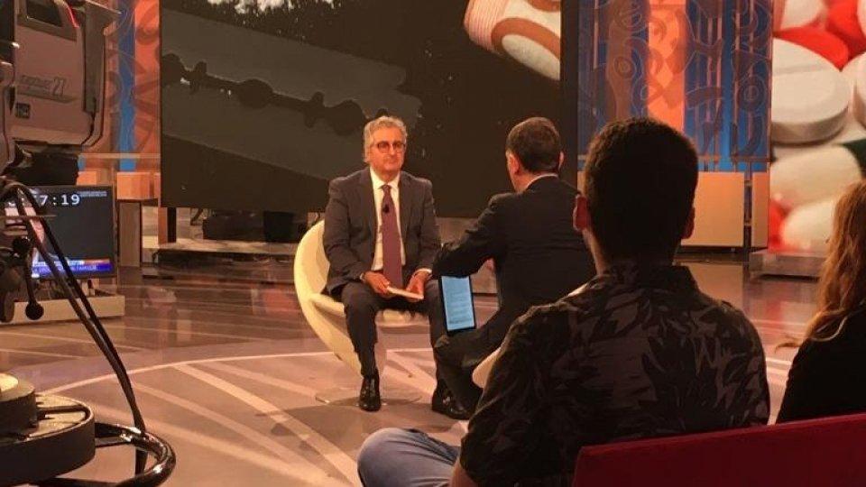 """Rai 1, Sergio Barducci e """"Ti parlo di noi"""" alla """"La Vita In Diretta"""""""