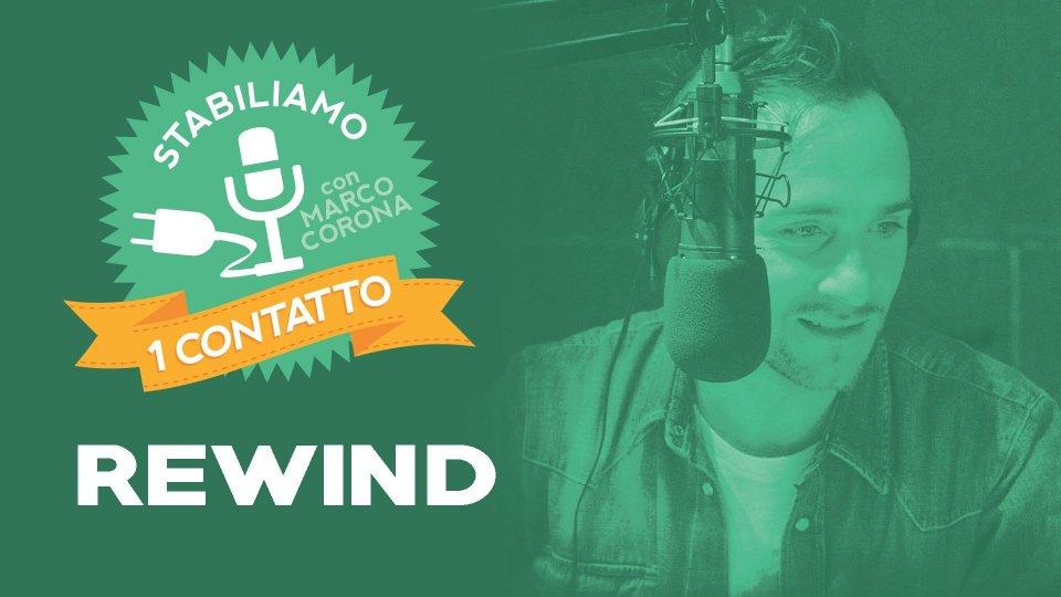 Stabiliamo Un Contatto Venerdì 07 Giugno 2019