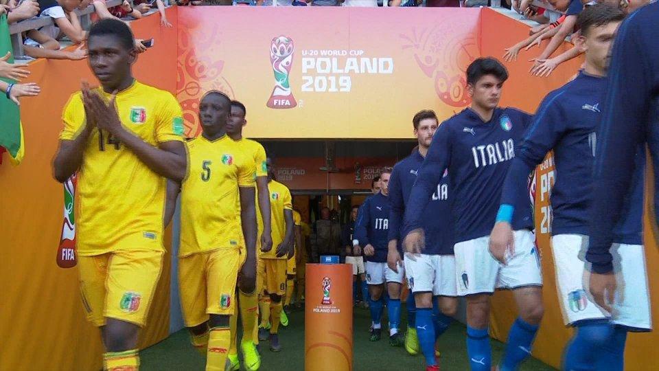 MONDIALE U20 l'Italia è in semifinale