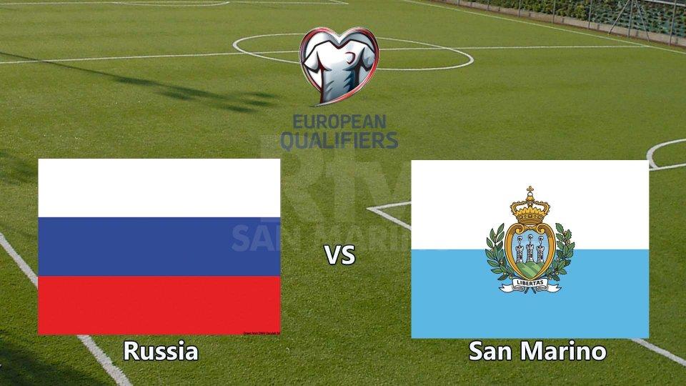 Pesante sconfitta per San Marino, la Russia vince 9 a 0