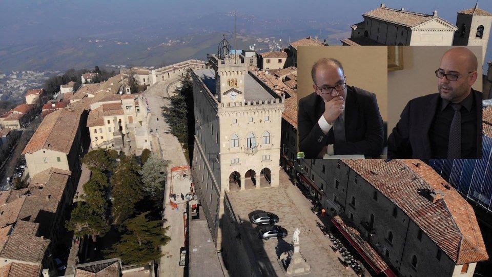 Palazzo Pubblicoil resoconto politico