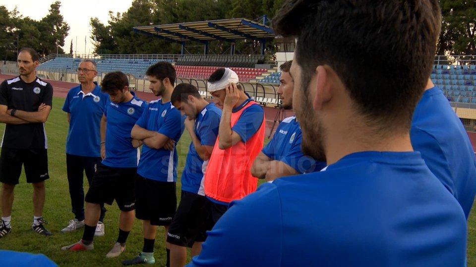 U21, primo allenamento in Grecia: Moretti lavora a parteU21, primo allenamento in Grecia: Moretti lavora a parte