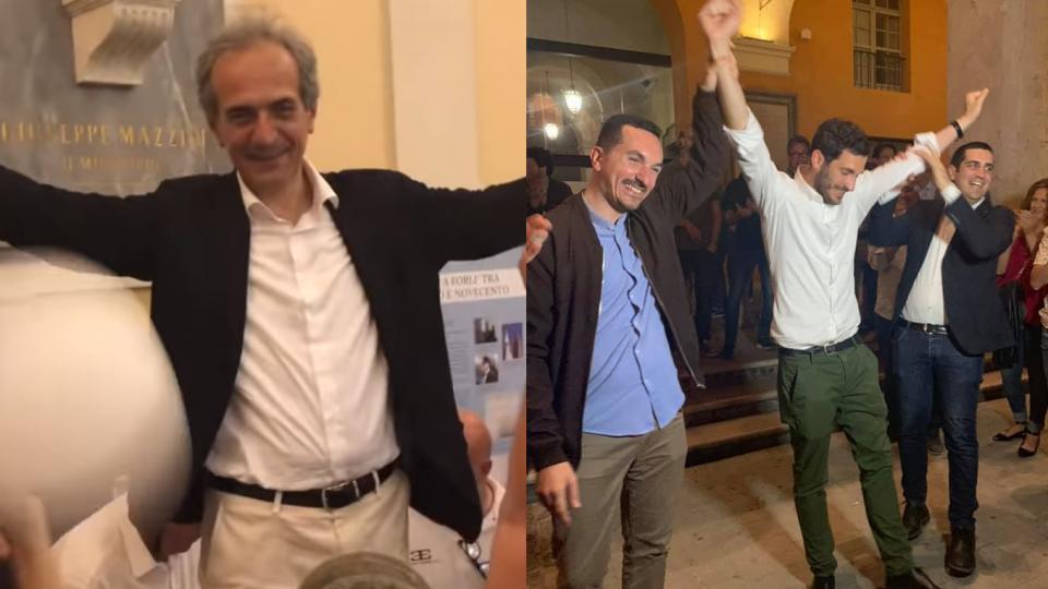 Gian Luca Zattini e Enzo Lattuca (foto facebook)