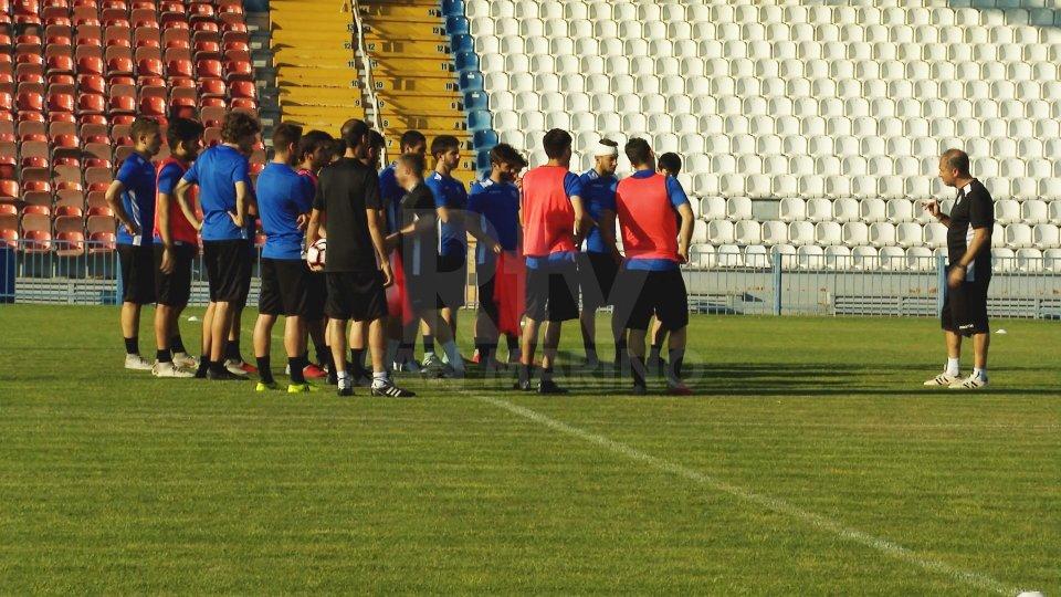 Allenamenti della nazionale U21