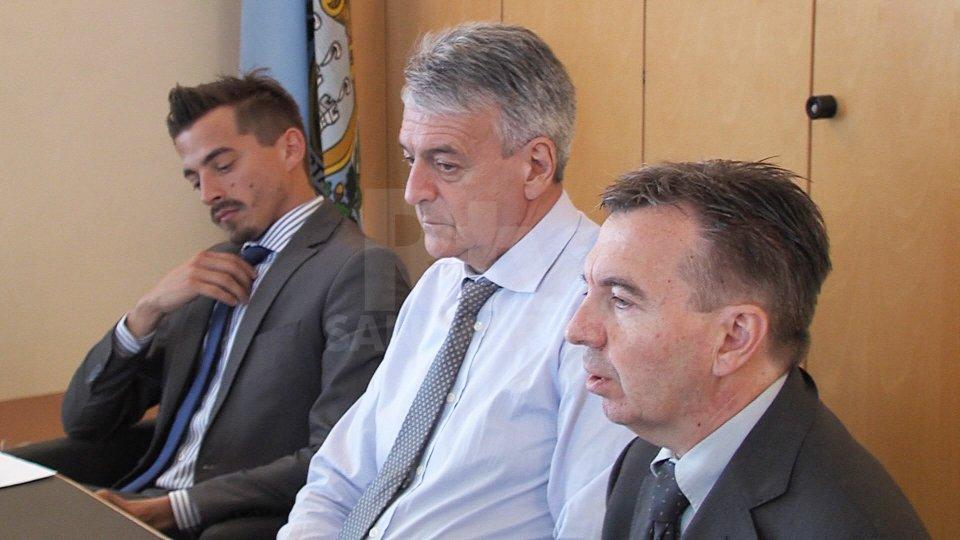 Matteo Ciacci, Giuseppe Maria Morganti e Roberto GiorgettiNel video l'intervista a Matteo Ciacci (Civico10)