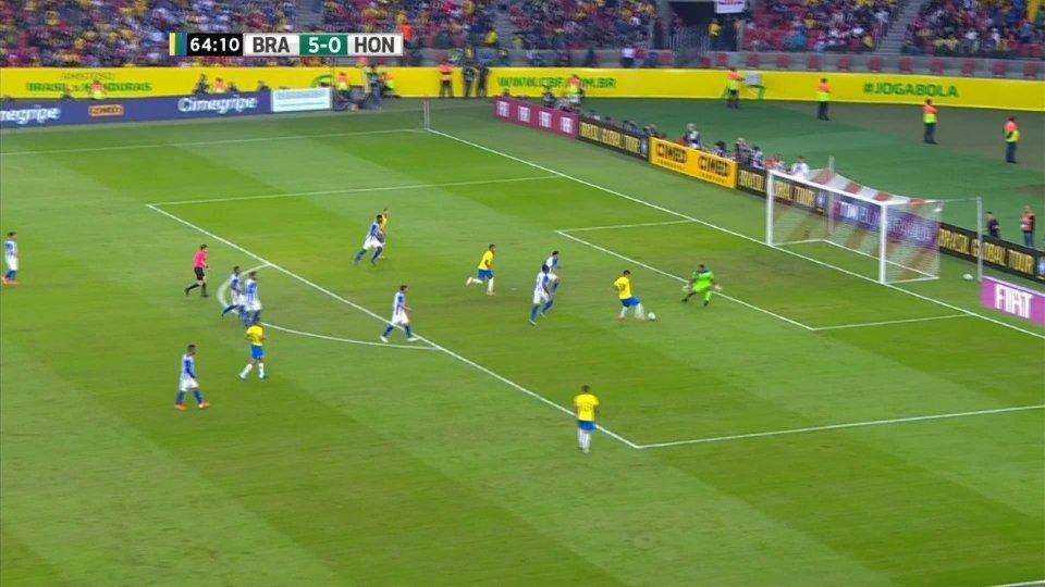 Il Brasile, in vista dell'inizio della Coppa America, fa allenamento con l'Honduras finisce 7-0