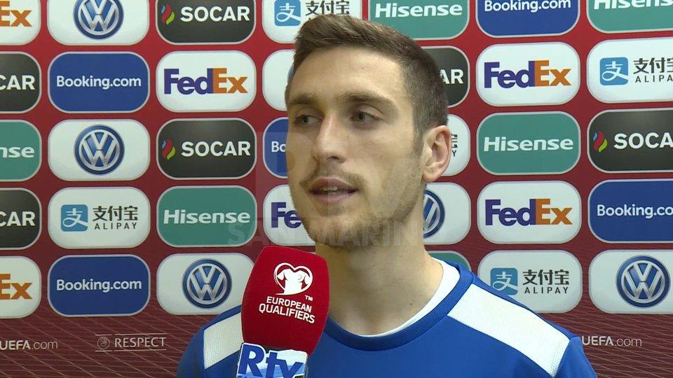 Marcello Mularoni, centrocampista Nazionale San MarinoNel video l'intervista a Marcello Mularoni, centrocampista Nazionale San Marino