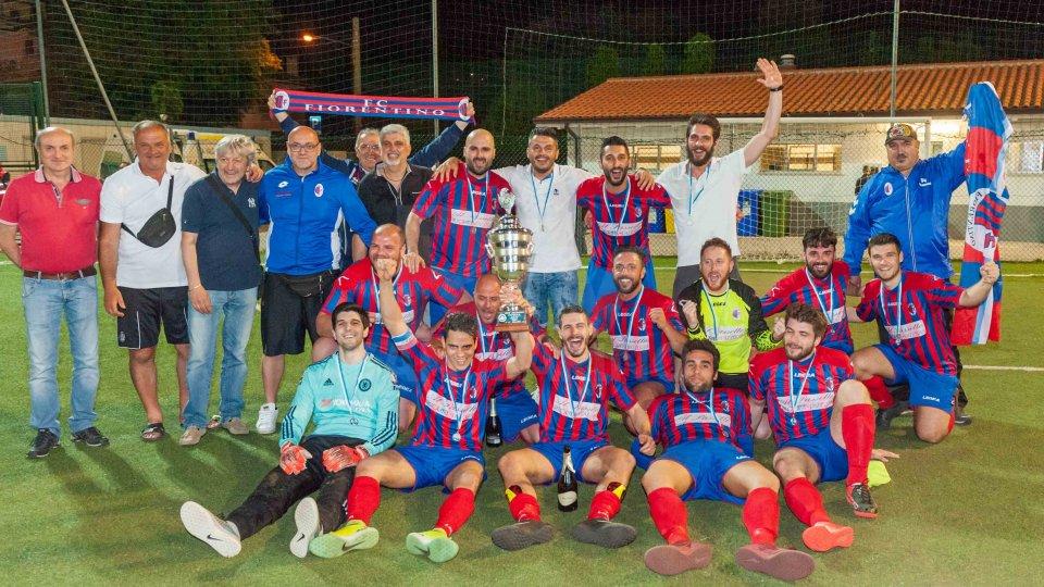 I festeggiamenti del Fiorentino FutsalFutsal Cup: è doppietta Fiorentino